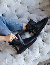 Угги женские в стиле UGG Australia Mini Bailey Bow II Black, фото 3