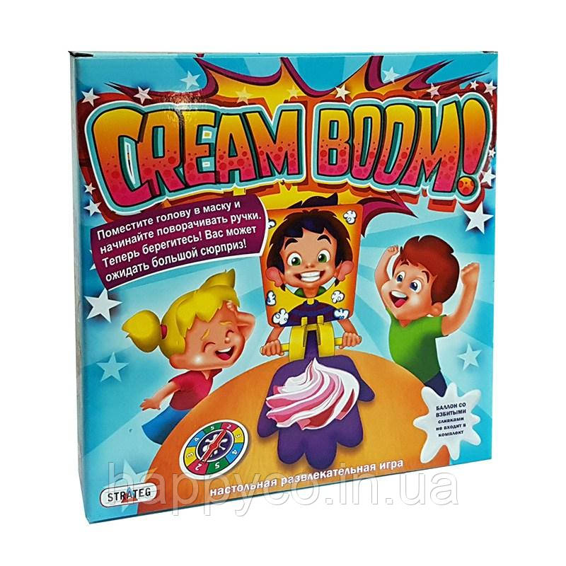 "Развлекательная игра настольная ""Cream Boom"" (Бам-Бам) от Strateg"