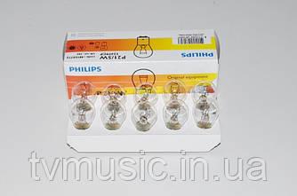 Автомобильная лампочка Philips Vision P21/5W (12499CP)