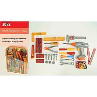 Набор инструментов 2083 (18шт/2) ключи, дрель, отвертки, в рюкзаке