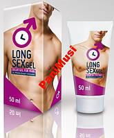 Крем Гель удлиняющий секс на 1 час больше ощущений  LONG SEX GEL