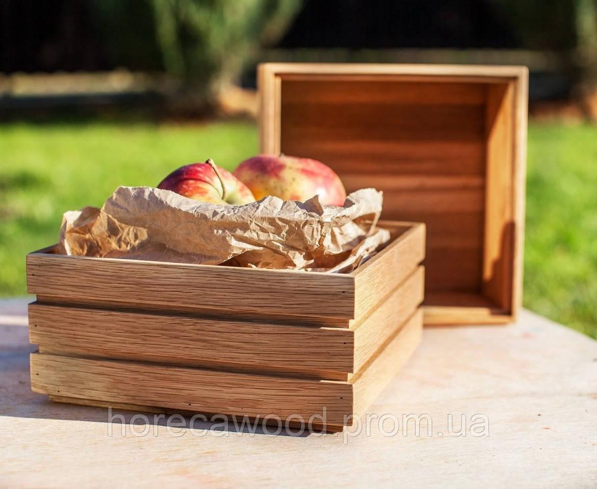 Коробка деревянная для подачи хлеба