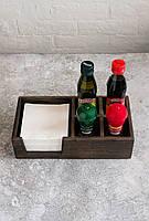 Сафетница с отделениями под соль и специи, фото 1
