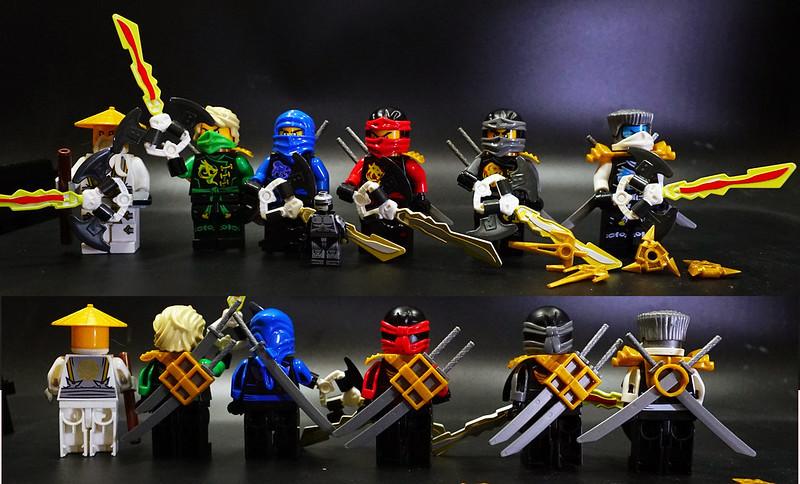 Фигурки ниндзяго Lego Ninjago Лего кай ния джей коул