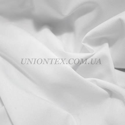Рубашечная ткань стрейч белая, фото 2