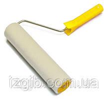 Валик Велюр с ручкой д 6 мм, 40/230 мм