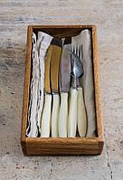 Ящик для столовых приборов 25 х 13 х 5см деревянный из массива дуба