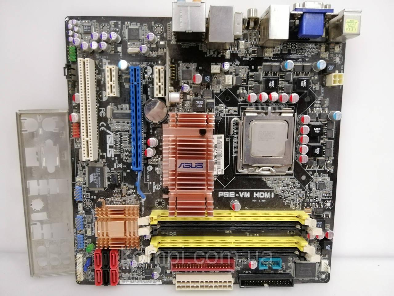 Материнская плата ASUS P5E-VM HDMI +e6850  s775 G35 DDR2