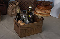 Ящик из светлого дуба для хранения кухонных мелочей, фото 1