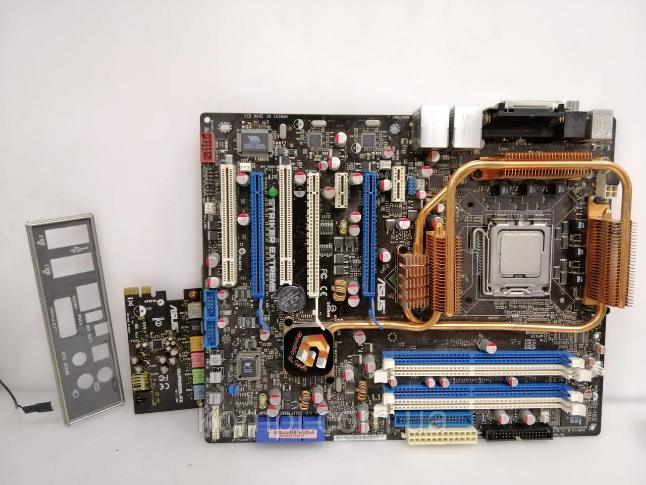Материнська плата ASUS Striker Extreme +e6750 s775 DDR2