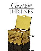 "Музыкальная шкатулка ""Game of Thrones - Игра Престолов"" (GOLD)"