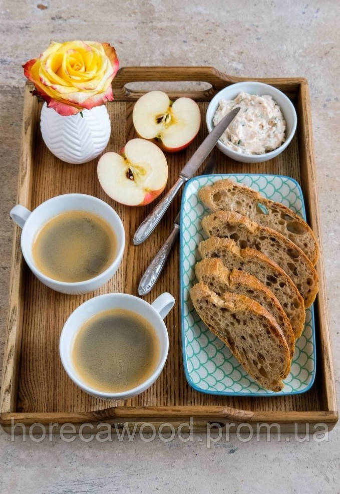 Поднос для завтраков из ясеня