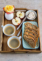 Поднос для завтраков из ясеня, фото 1