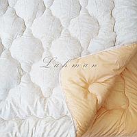 Одеяло евро 195х215 см. | Тепла ковдра, наповнювач холлофайбер | Одеяло стёганное теплое на холлофайбере