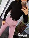 Женский повседневный базовый гольф с высоким воротником 66ddet636Q, фото 2
