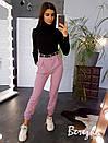 Женские брюки карго с завышенной талией и манжетами 66bil382Q, фото 2