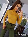 Женские брюки карго с завышенной талией и манжетами 66bil382Q, фото 3