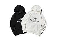 Худи Balenciaga Mode черное, белое, унисекс (мужское, женское, детское)