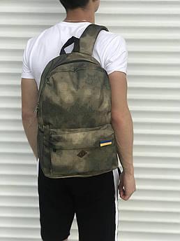Мужской спортиный рюкзак пятнистый
