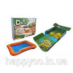"""Песочный детский набор  для творчества """"Dino place"""", Strateg"""
