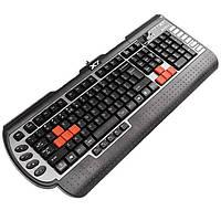 Игровая клавиатура a4 tech x7-g800 mu ps/2 black
