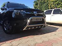 Renault Duster Кенгурятник без надписи WT003