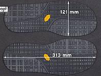 Резиновая подошва/след для обуви BISSELL арт. 115, цв. черный