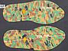 """Резиновый след подошвы обуви """"далматинец"""", BISSELL art.116, цв. хаки"""