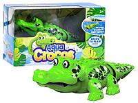 Интерактивная игрушка Крокодил зелёный (поёт, плавает)  Silverlit Agua Сrocos Moving