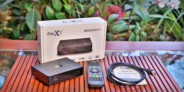 INeXT TV-W сетевой мультимедийный FullHD плеер с WiFi для IPTV телевидения