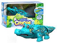 Интерактивная игрушка Крокодил изумрудный (поёт, плавает)  Silverlit Agua Сrocos Moving