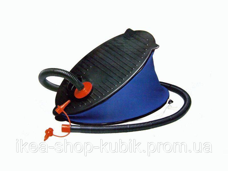 Ножной насос для надувания Intex 69611, объем 3 л, 28 см, 3 насадки