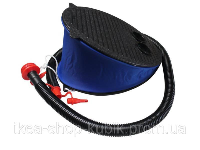 Ножной насос для надувания Intex 69611, объем 3 л, 28 см, 3 насадки 2