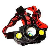 Налобный фонарик KX 1805, фото 3