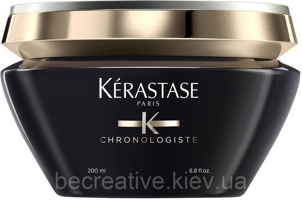 Восстанавливающая маска для волос Kérastase Chronologiste Crème de Régéneration, 200 мл