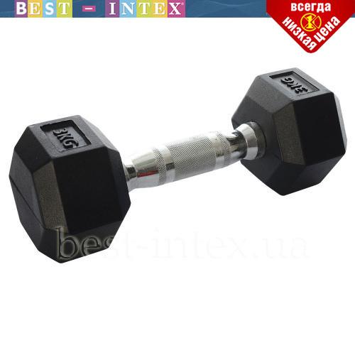 Гантель для занятий спортом MS 0115 (3 кг)