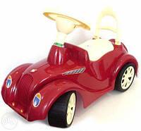 """Детская машинка-каталка (толокар) Орион """"Ретро"""" с клаксоном красный"""