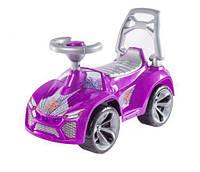 """Детская машинка-каталка (толокар) Орион """"Ламбо"""" с клаксоном (розовый) 21"""