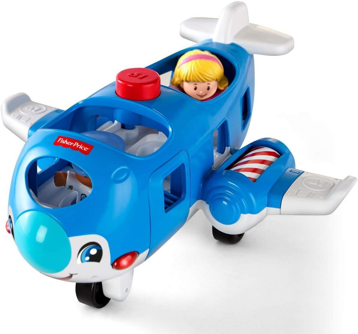 Самолет Fisher-Price Little People Travel Together Airplane Экоупаковка