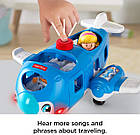Самолет Fisher-Price Little People Travel Together Airplane Экоупаковка, фото 7