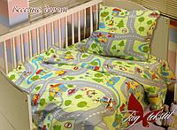 TAG Детский комплект  постельного белья в кроватку Веселые дороги