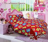 TAG Детский комплект  постельного белья в кроватку Далматинцы красн.