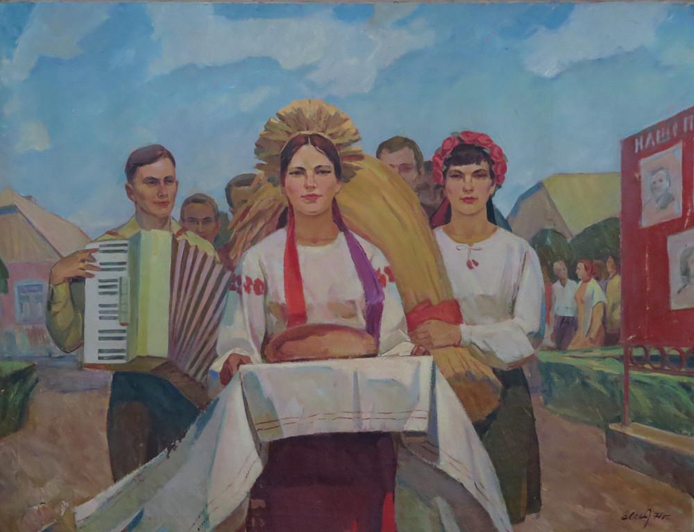 Хлеб да соль В.Лесь 1971 год