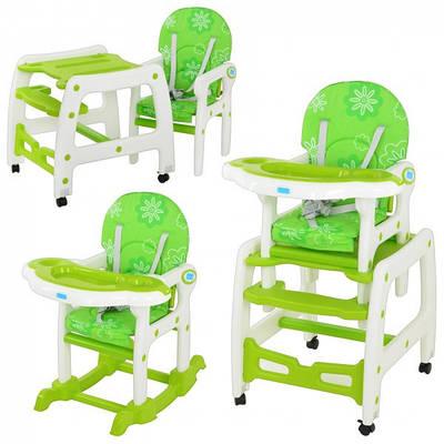 купить детский стульчик для кормления трансформер Bambi M 1563