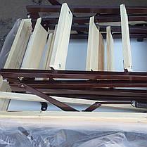 Лестница на чердак 100*70 см метал/дерево (Украина), фото 2