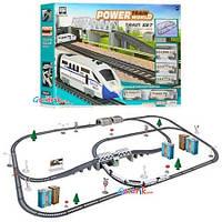 Железная дорога со звуком и светом 2 локомотива 3 вагона 2181