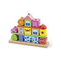 """Набор кубиков Viga Toys """"Город"""" (50043), фото 1"""