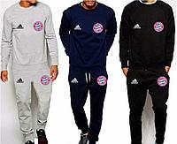 Спортивный костюм Бавария, Адидас, Bayern, Adidas, серый, синий, черный, К4905