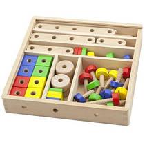 Набір будівельних блоків Viga Toys 53 деталі (50490)