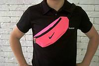 Бананка, Барсетка женская Найк, Nike, ф1674